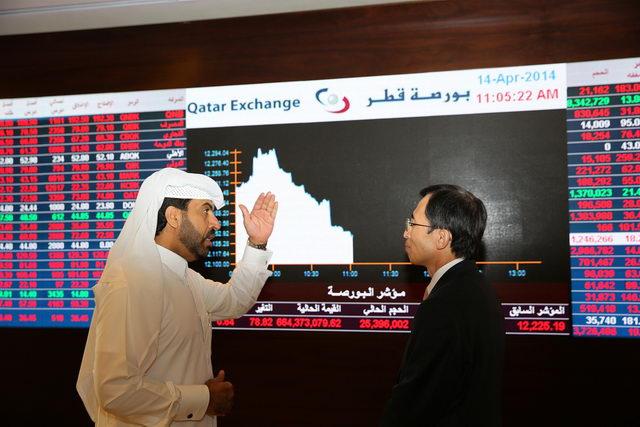 Korean Ambassador visits Qatar Stock Exchange and discusses