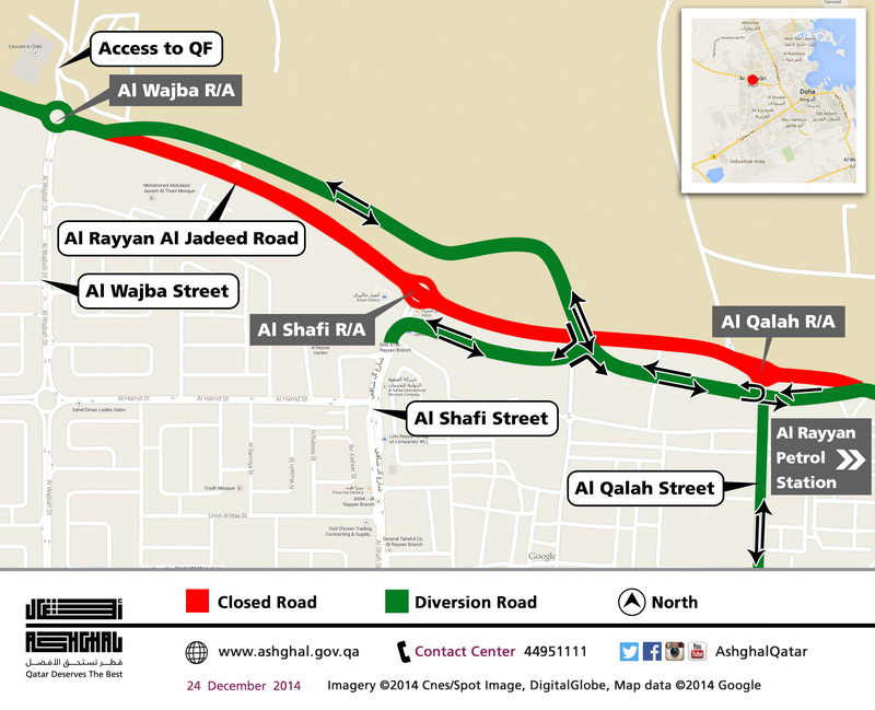 Traffic diversion on Al Rayyan [qatarisbooming.com].jpg