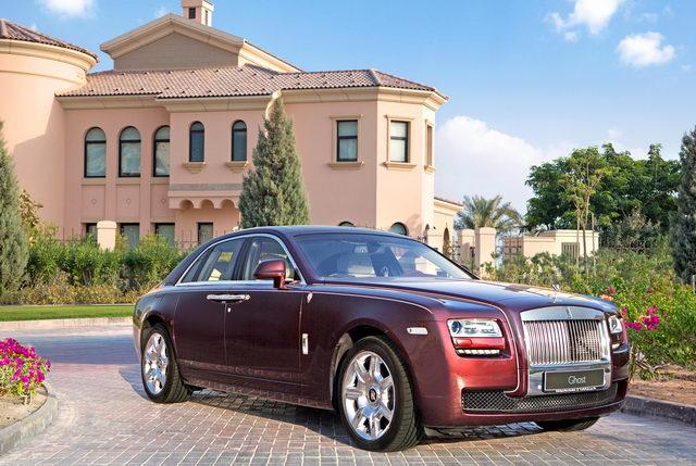 Rolls-Royce Motor Cars Doha showcases Rolls-Royce's impressive ...