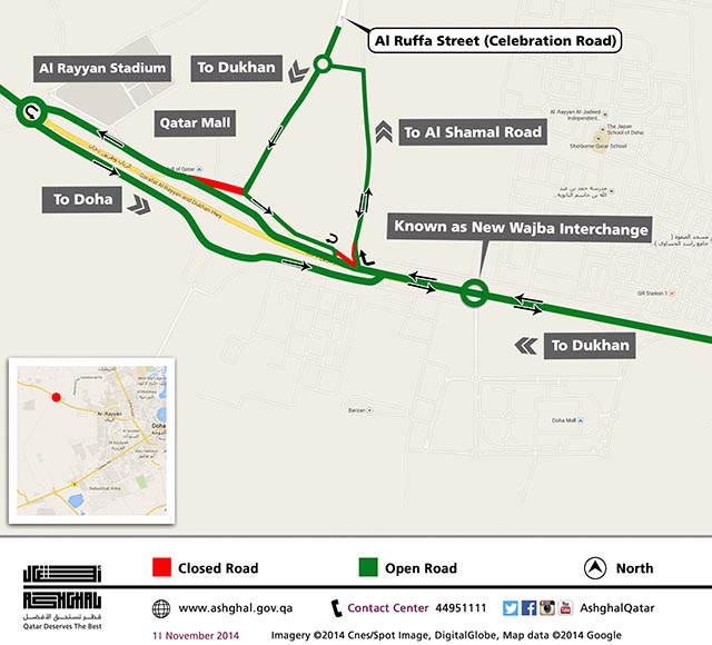 Temporary road re-alignment on Dukhan 2 [qatarisbooming.com].jpg