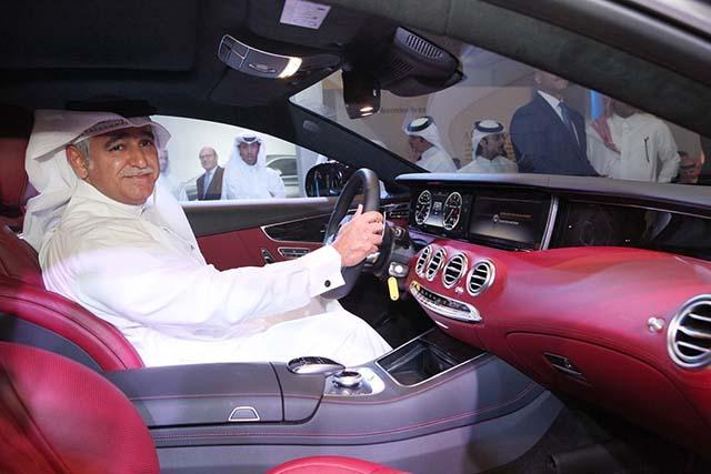 Nbk Automobiles Reveals The New Mercedes Benz S Class Coupe Qatar
