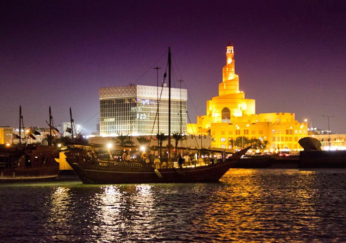 The dhow boat dining experience launched by Souq Waqif