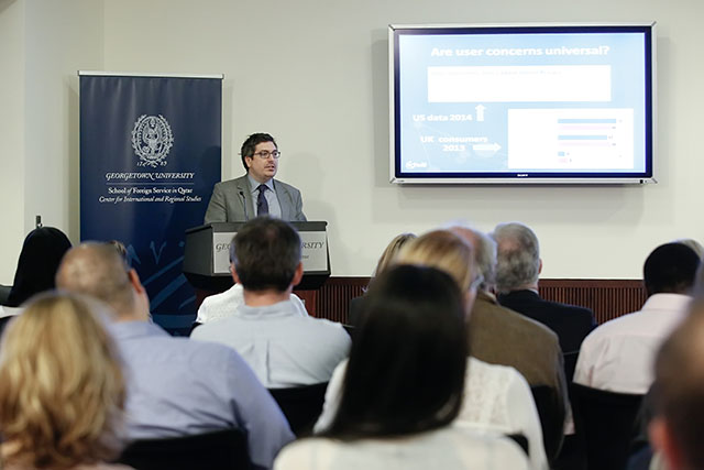 Georgetown lecture on cybersecurity launches 2 [qatarisbooming.com].jpg