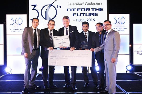 Abu Issa Marketing and Distribution wins Beiersdorf Best Performance Award