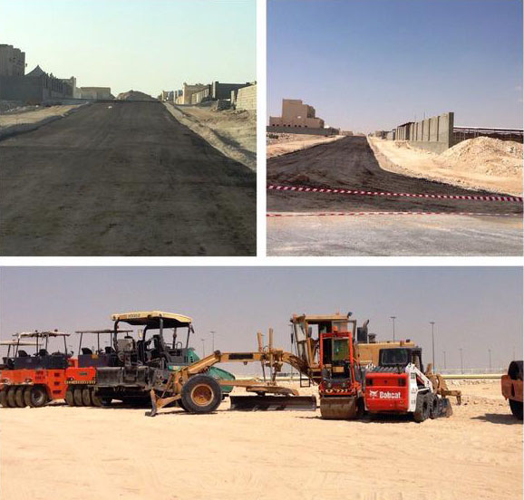 Firm constructing road without 2 [qatarisbooming.com].jpg