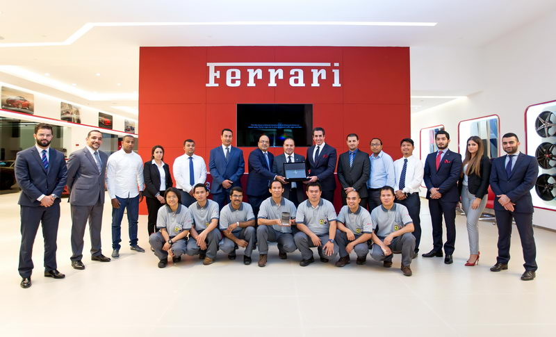 Ferrari Qatar wins honourable [qatarisbooming.com].jpg