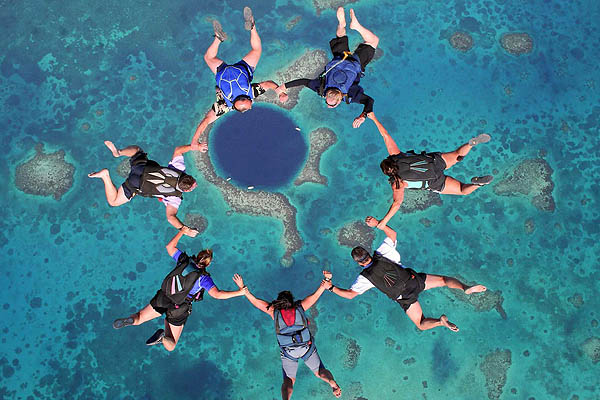 Skydive Sport Comes To Qatar Qatar Is Booming