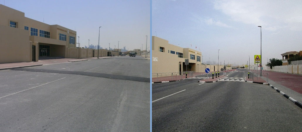 Ashghal continues its efforts 2 [qatarisbooming.jpg
