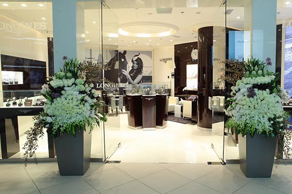 Longines opens its first monobrand boutique in doha city for 31 twenty five boutique