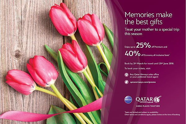 Qatar airways launches memories make the best gifts promotion qatar airways launches memories make the best gifts promotion qatar is booming stopboris Image collections