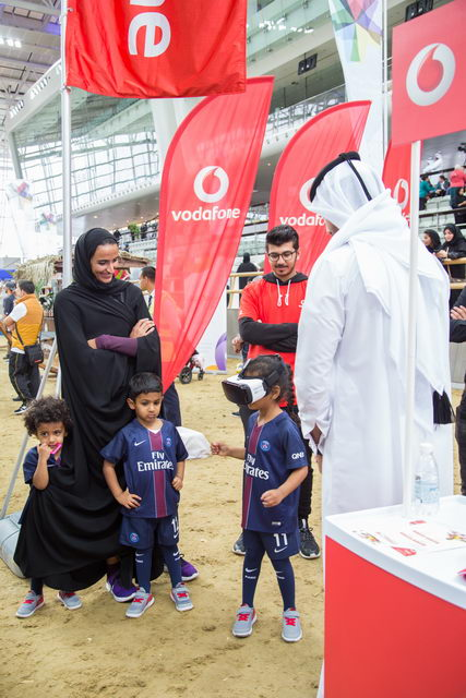 Vodafone engages the community [qatarisbooming.com].jpg