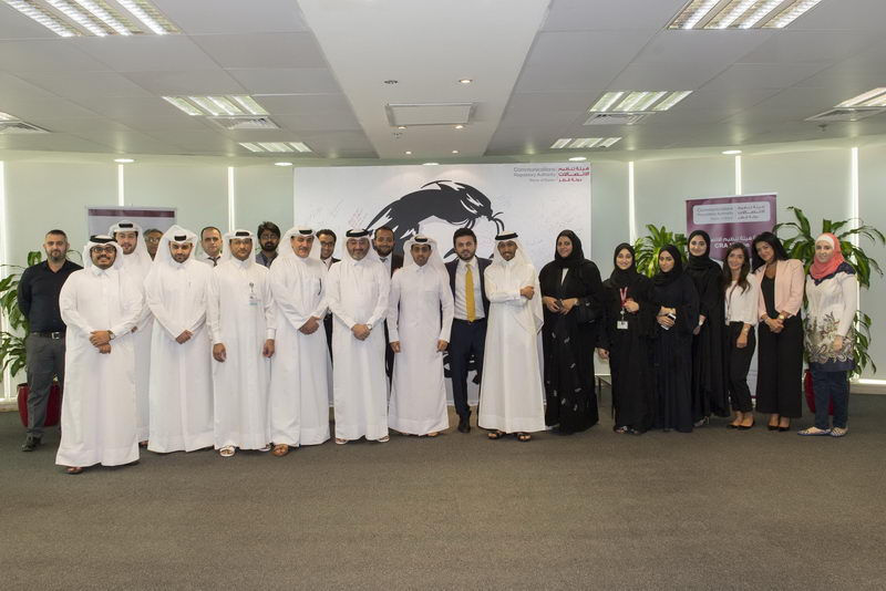Communications Regulatory Authority unveils [qatarisbooming.com].JPG