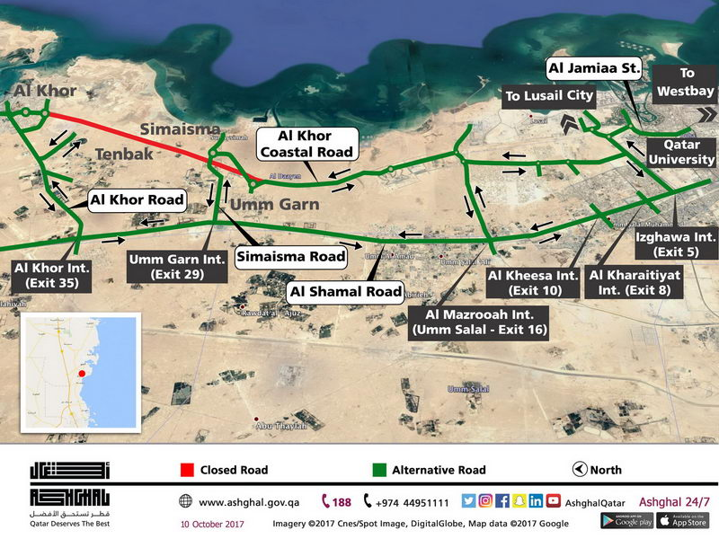Closure of northern section [qatarisbooming.com].jpg