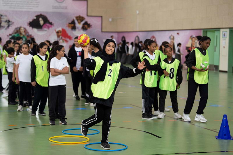 Team Qatar's female handball 1 [qatarisbooming.com].jpg
