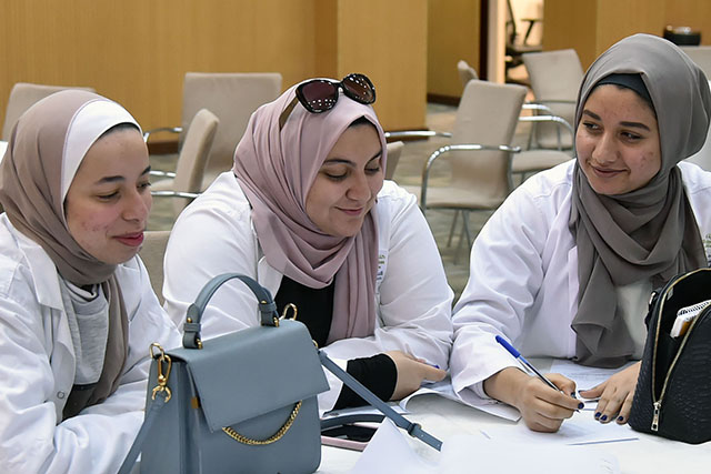 QU health care students collaborate 3 [qatarisbooming.com].jpg