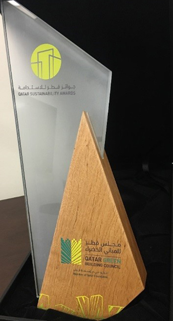 QU wins award at Fourth Qatar 2 [qatarisbooming.com].jpg