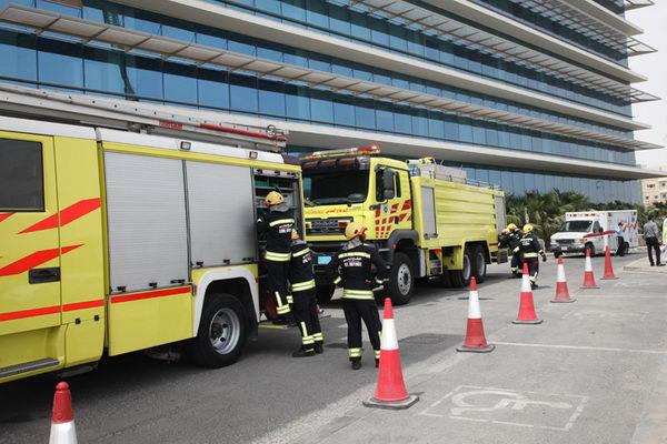 qatar civil defense fire safety