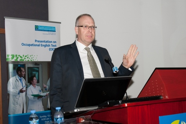hmc holds seminar on occupational english test for healthcare professionals