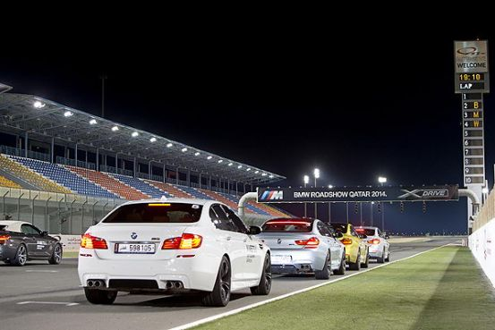 BMW X And M Models Steal The Light At Losail International Circuit In Qatar