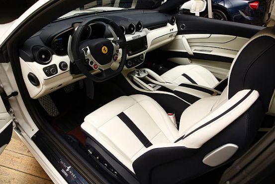 Qatar S Very Own Customized Ferrari Ff Perla On Display At The Qatar Motor Show Qatar Is Booming