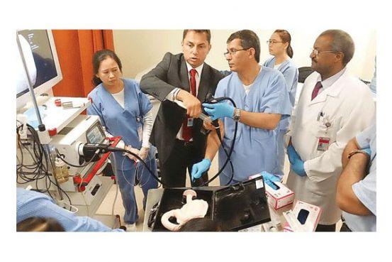 Workshop on gastrointestinal endoscopy held | Qatar is Booming