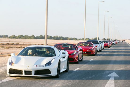 Ferrari Qatar demonstrates its commitment to aftersales