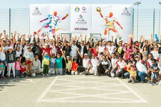 Qatargas employees and families participate in Sports Day