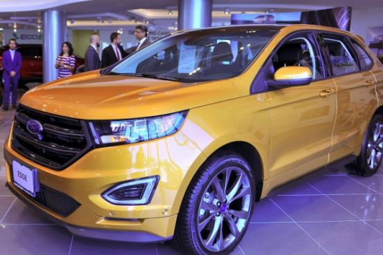 Almana Motors Launches The All New Ford Edge In Qatar
