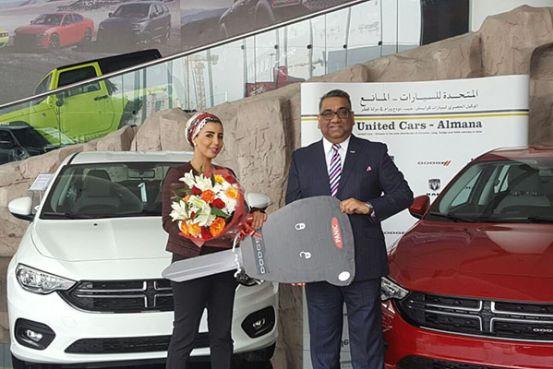 United Cars Almana brings Dodge Neon to Qatar's rental