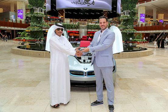 Mall Of Qatar S Shop And Win Grand Prize Holder Drives Home With A