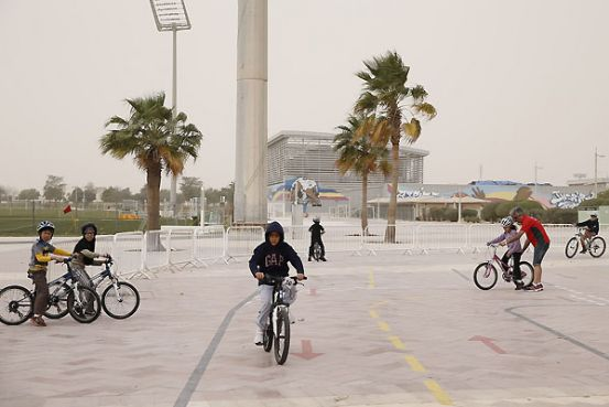 Aspire Zone Foundation brings back early winter activities ...