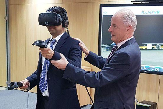 82b78ec3972 Qatar Airways becomes IATA S global launch partner of Ramp VR a new virtual- reality tool