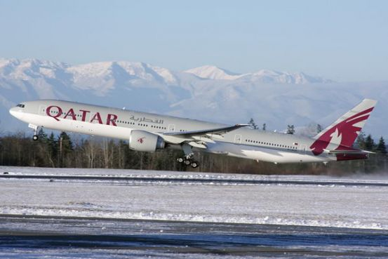 Qatar Airways Becomes The First Commercial Airline To Fly Airbus A350 Usa