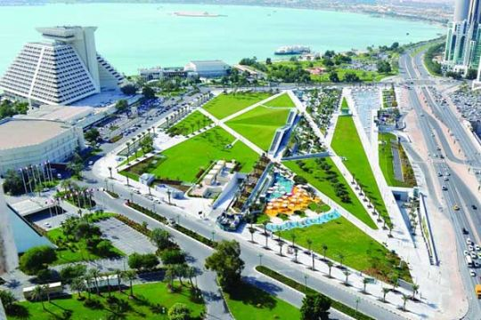 Public Parks Department | Qatar is Booming